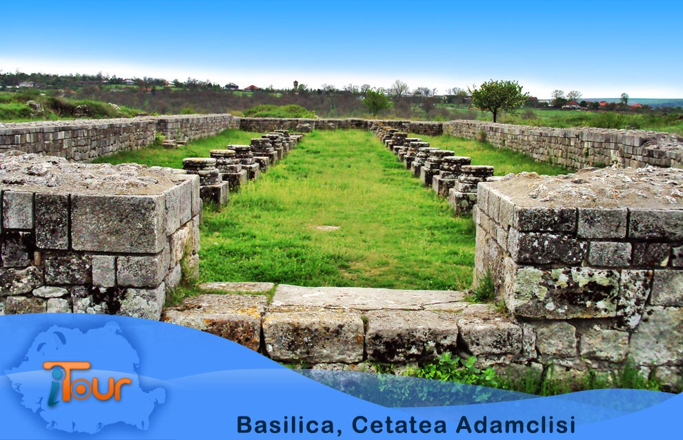 Basilica, Cetatea Adamclisi