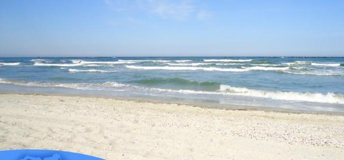La plaja in Constanta