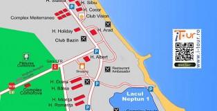 Harta Neptun Olimp