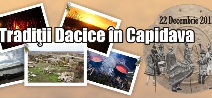 Tradiții dacice în Dobrogea – Capidava, 22 decembrie 2012