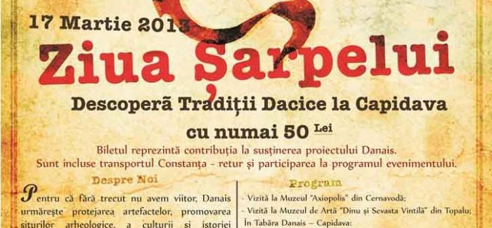 Ziua Şarpelui în Capidava – 17 Martie 2013