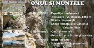 Afis Omul si Muntele 2013
