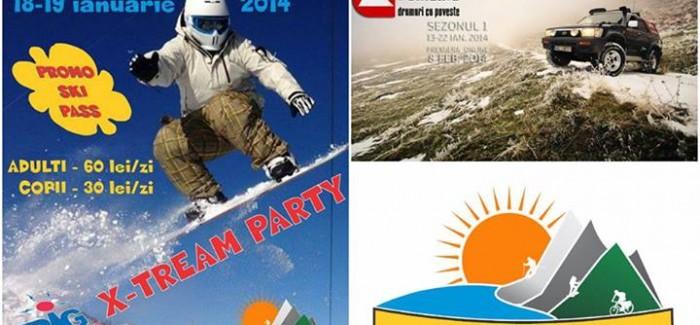 REVOLUȚIA ZĂPEZII – Big-Extreme Party – 19 ianuarie 2014, la Domeniul Schiabil Transalpina Ski Resort – Vidra Voineasa