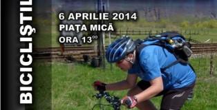 Afis Marsul Biciclistilor 2014