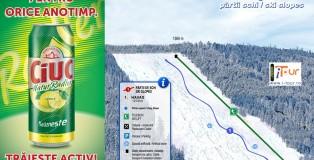 Harta partie schi Havas Bucin, Harghita