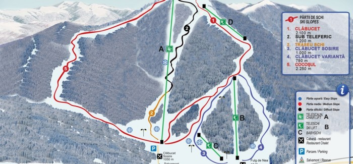 Partii de schi in Poiana Brasov si Predeal