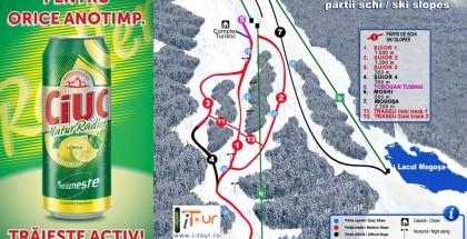 Harta partii schi Suior, Maramures