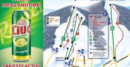 Harta partii schi Vatra Dornei, Suceava