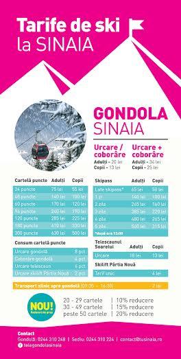 gondola-sinaia