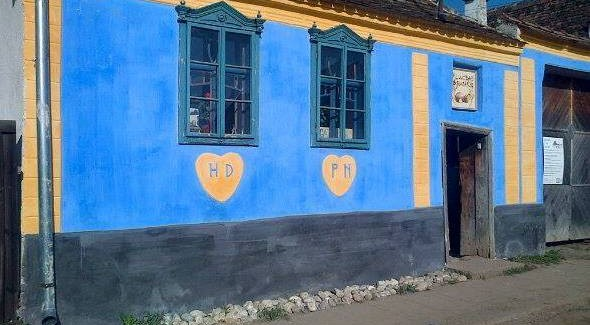 Moara Veche din satul Hosman, judetul Sibiu