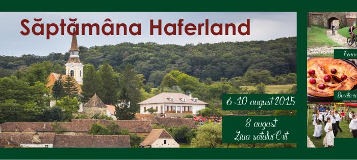 Săptămâna Haferland 2015 – Istoria ne invata!
