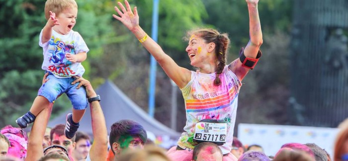 The Color Run Shine Tour 2015 – Mamaia