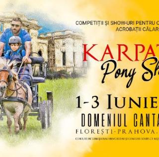Poneii reiau spectacolul ecvestru la Karpatia Pony Show 2018