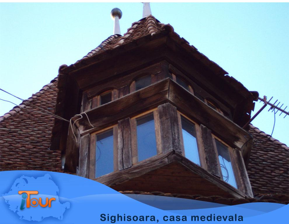 Sighisoara, casa medievala