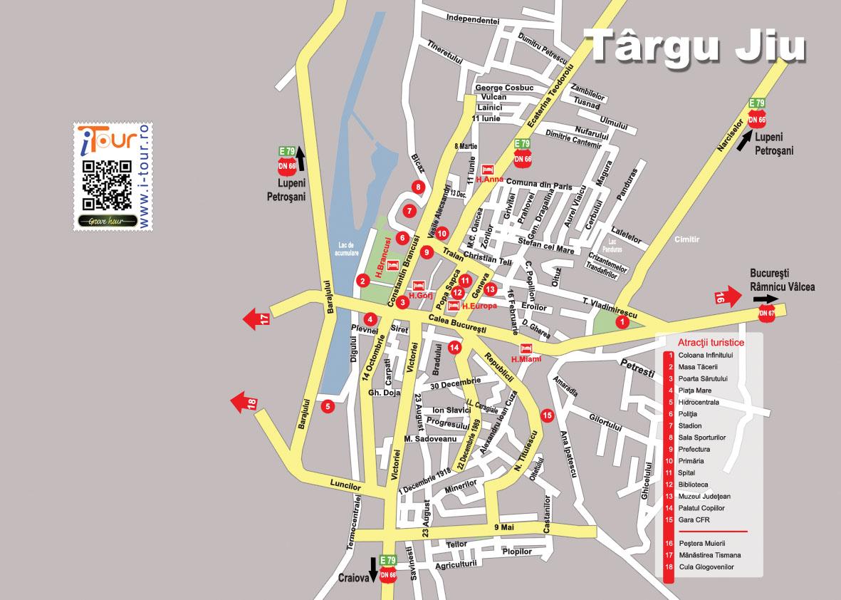 Targu Jiu Un Oras Uitat I Tour Proiect Național De Promovare