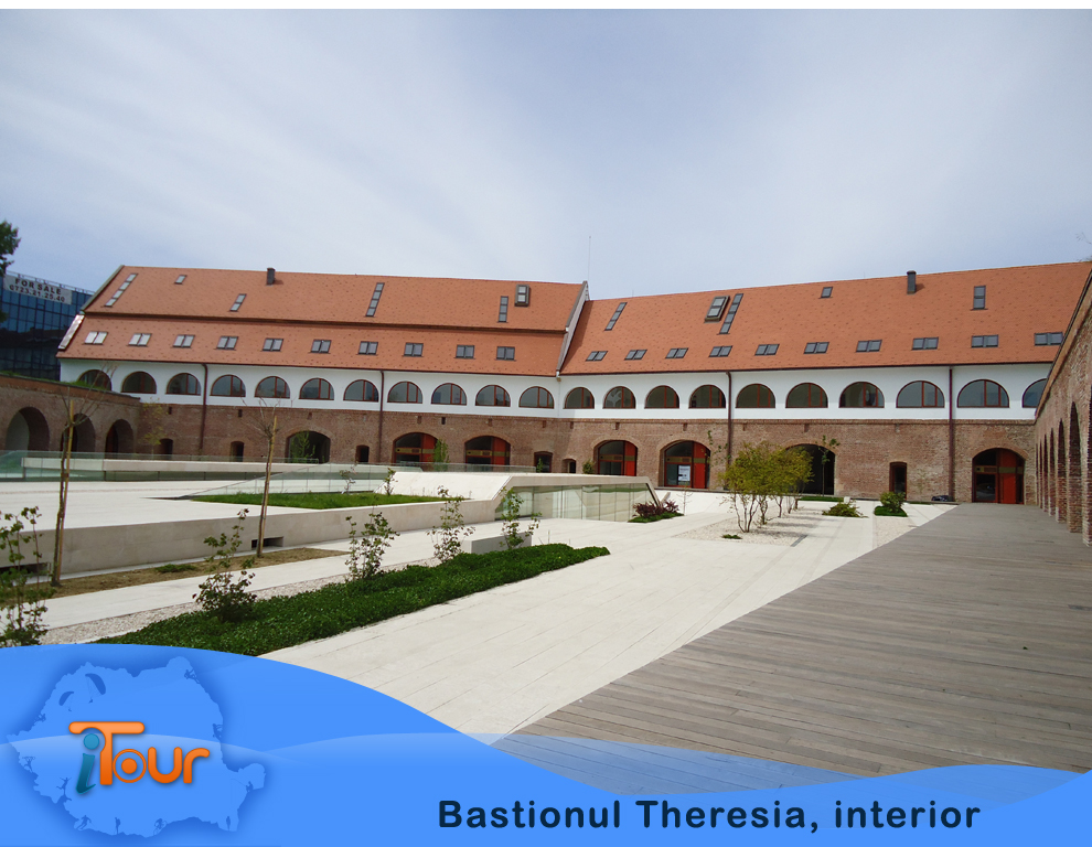 Bastionul Theresia, interior