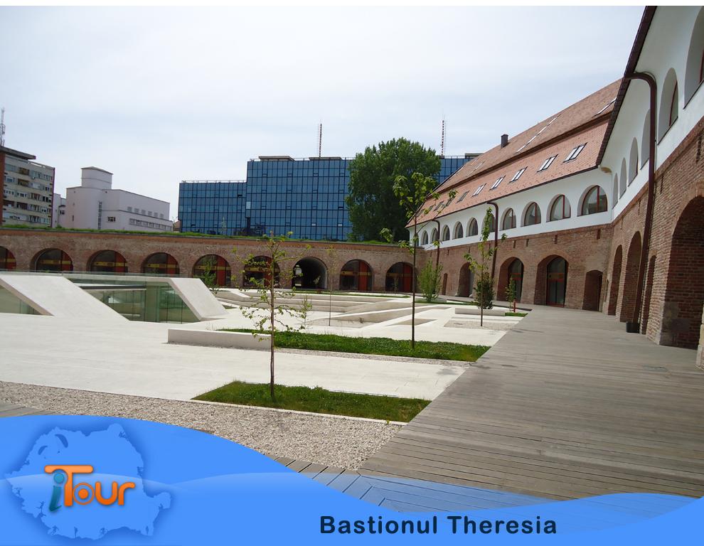 Bastionul Theresia, latura vestica