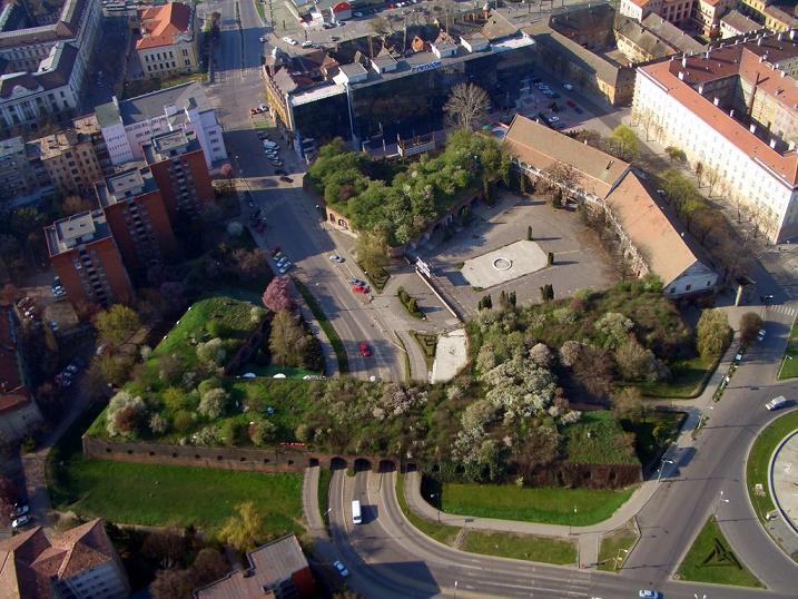 Bastionul Theresia, inainte de restaurare