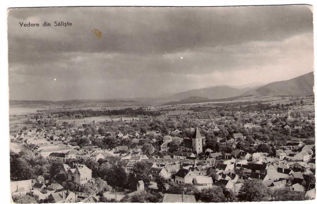 Saliste, vedere din 1964