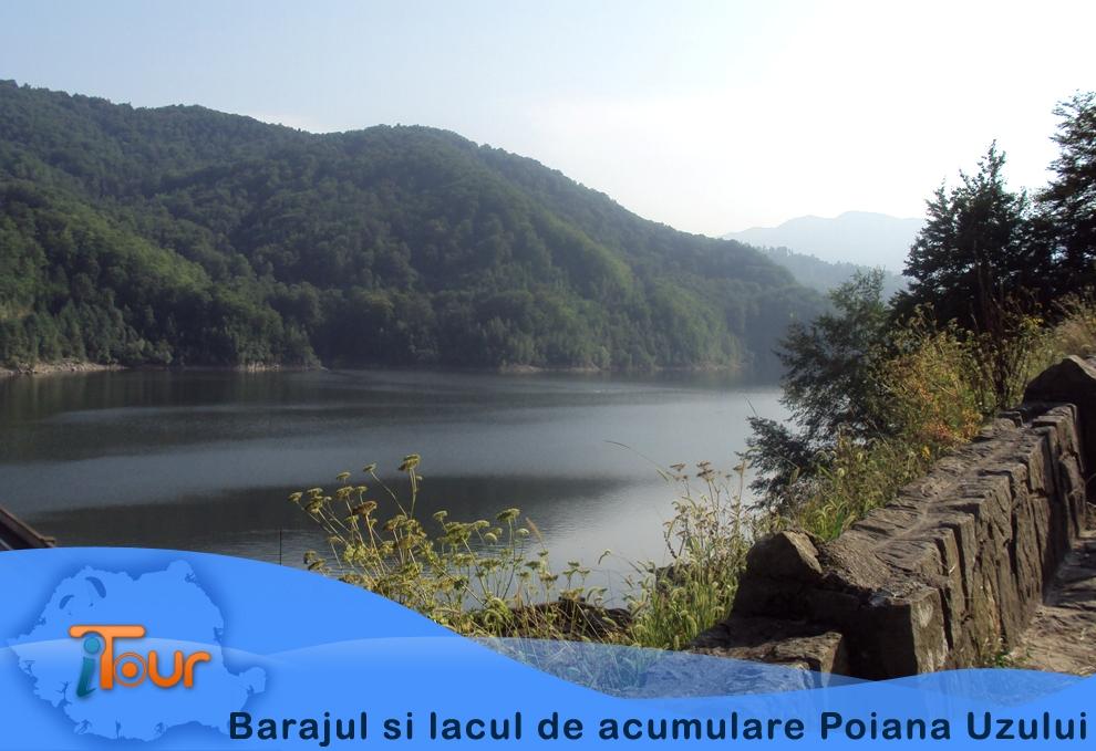 Barajul si lacul de acumulare Poiana Uzului