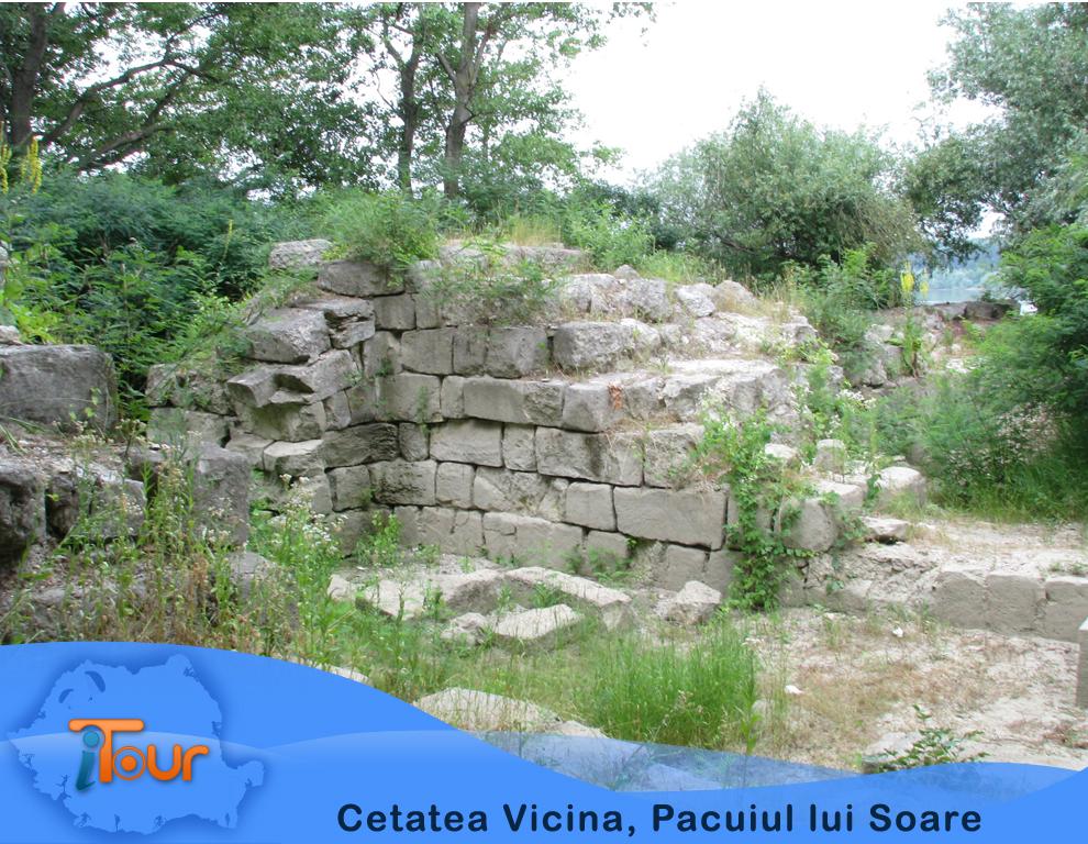 Cetatea Vicina, Pacuiul lui Soare
