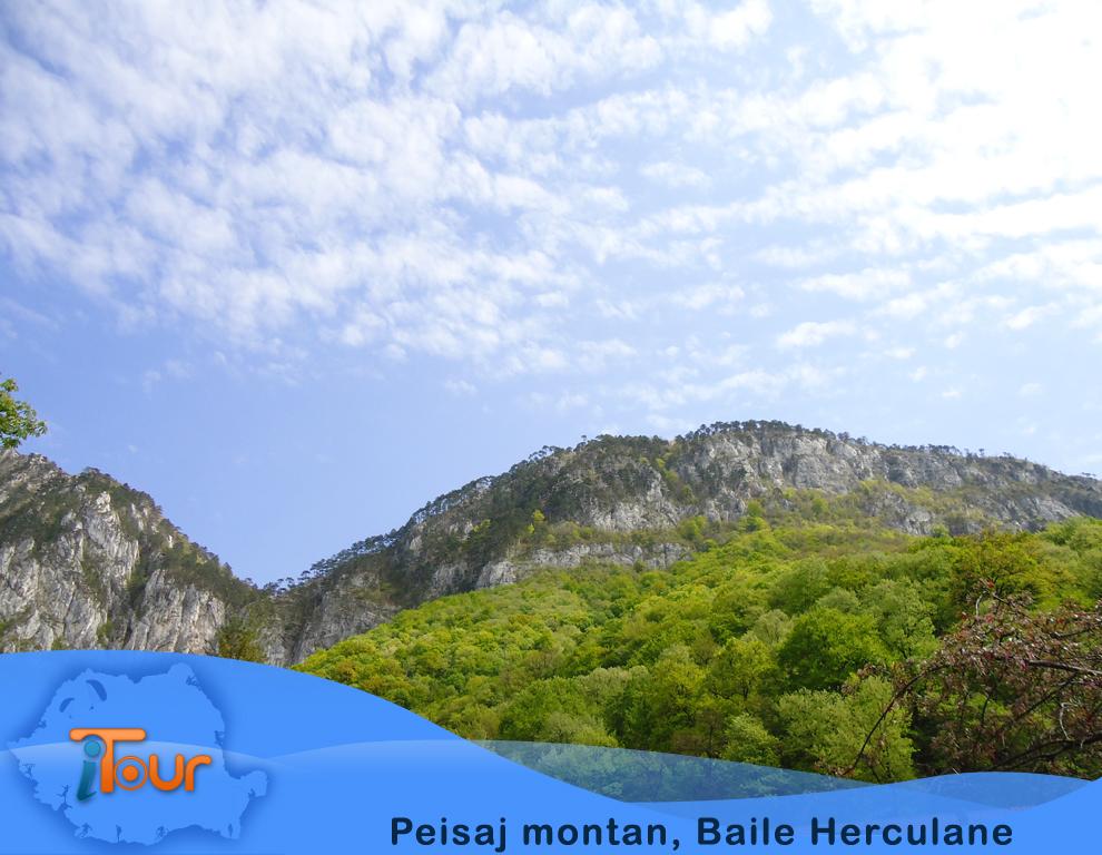 Peisaj montan, Baile Herculane