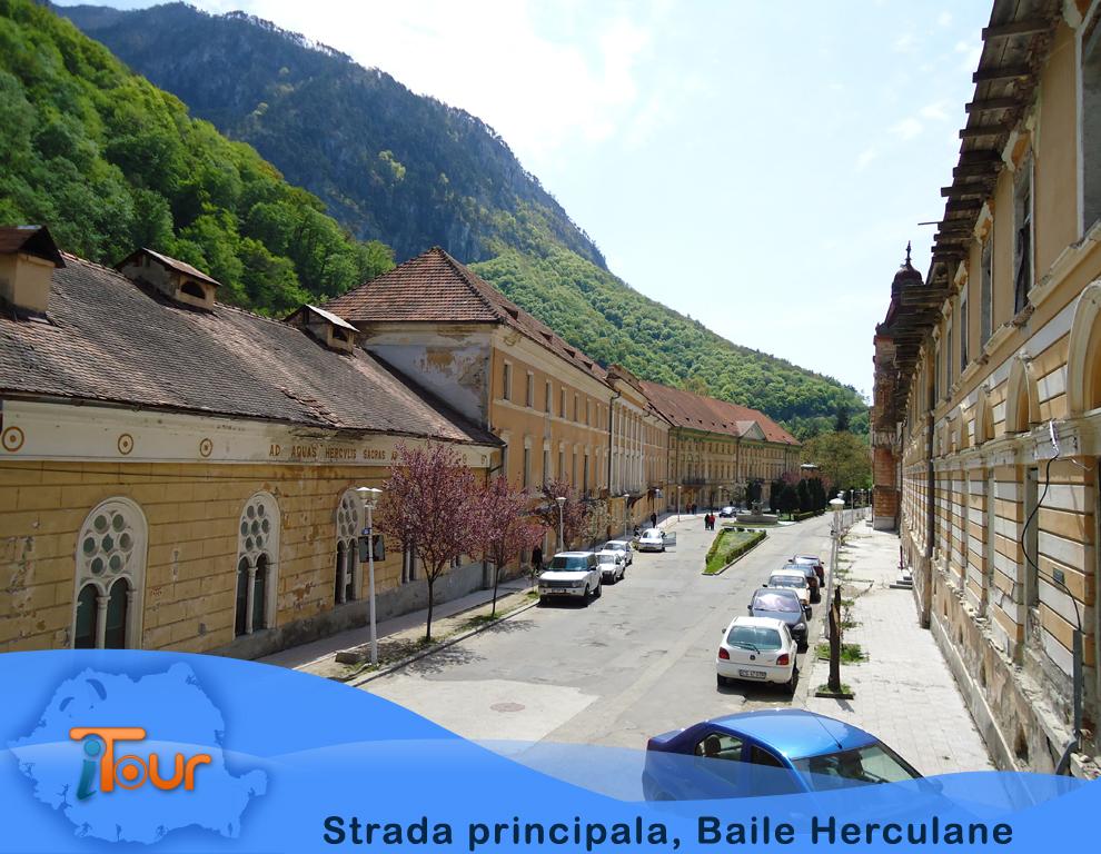 Strada principala, Baile Herculane