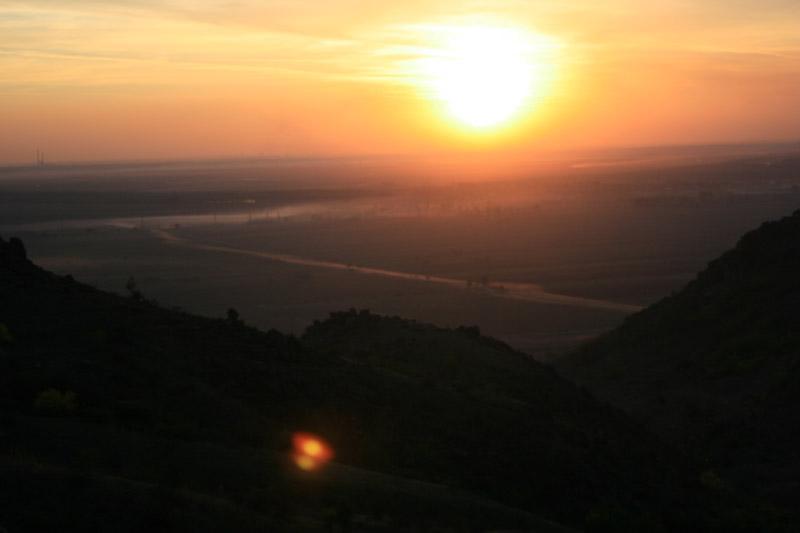 Apus pe Valea Serparu