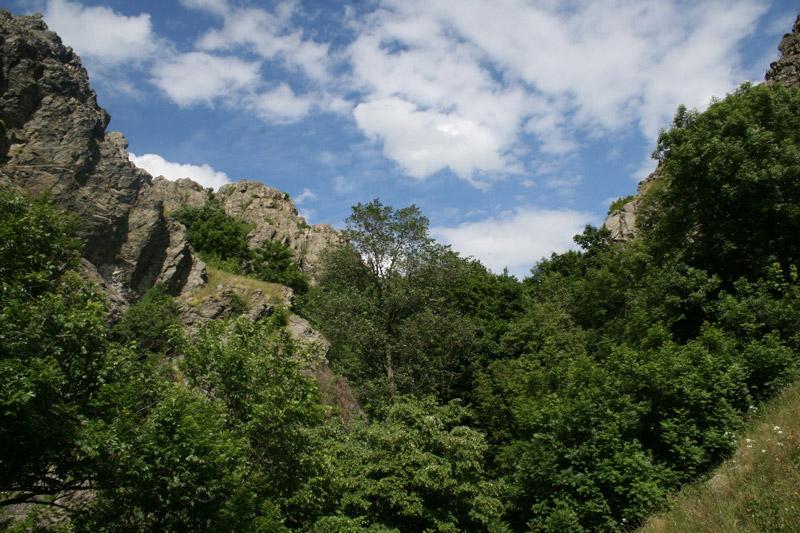 Canionul Chediu, Muntii Macinului