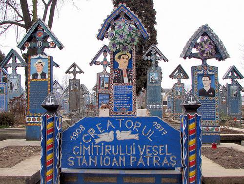 Stan Ioan Patras creatorul Cimitirului Vesel