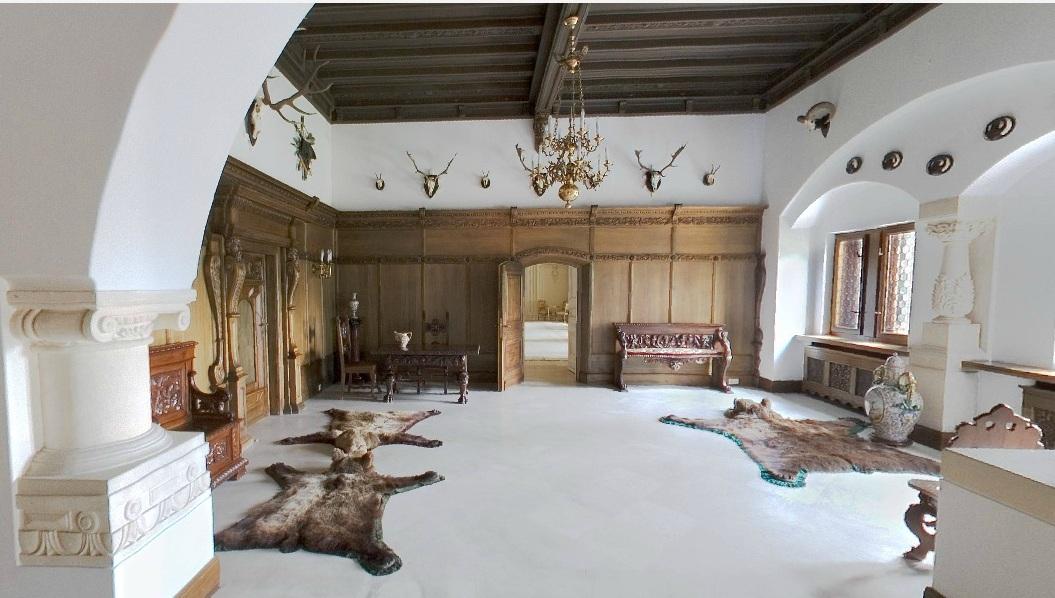 Salonul de vanatoare, Muzeul Cotroceni