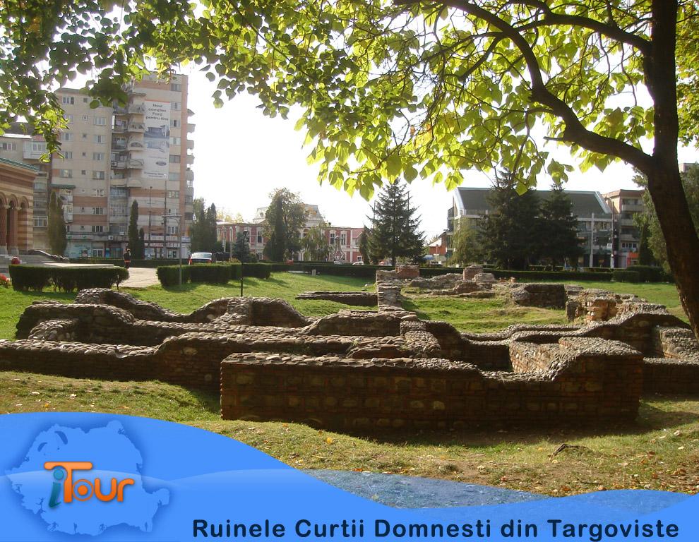 Ruine Curtea Domneasca Targoviste