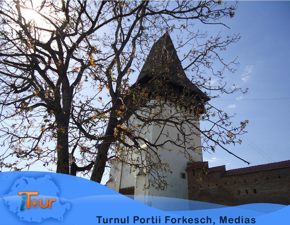 Turnul Portii Forkesch, Medias