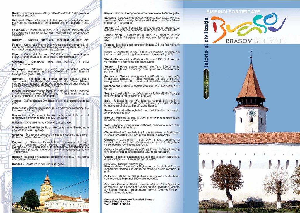 Brasov Biserici fortificate
