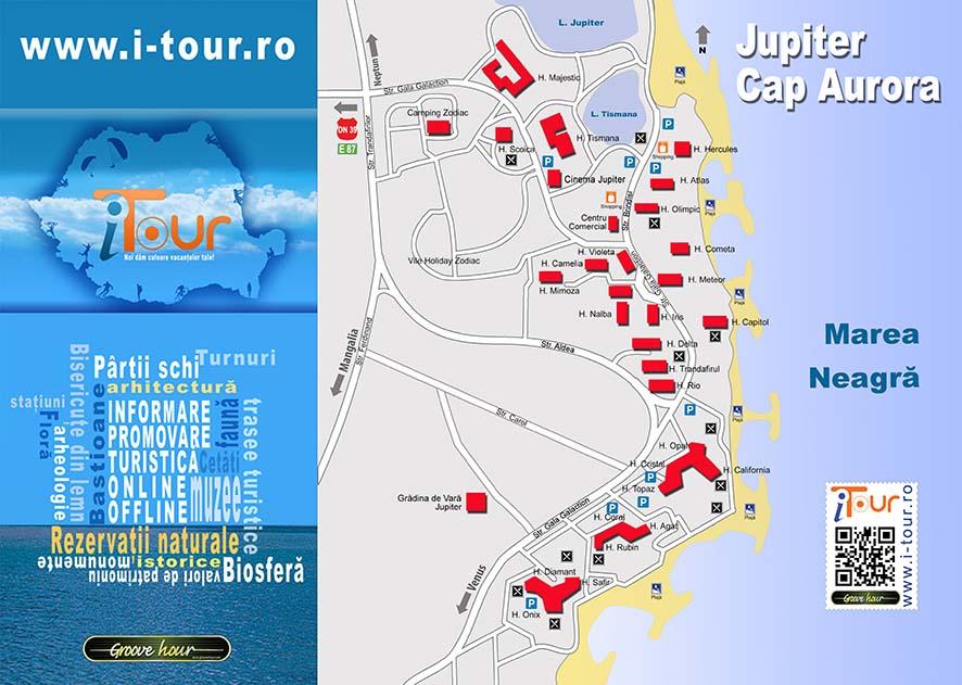 Harta Jupiter Cap Aurora