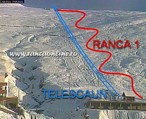 Harta partie schi Ranca 1