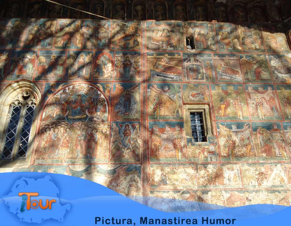 Manastirea Humor, pictura