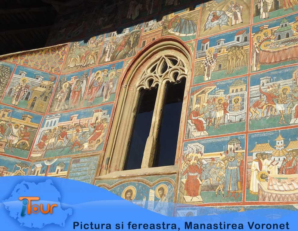 Manastirea Voronet, pictura