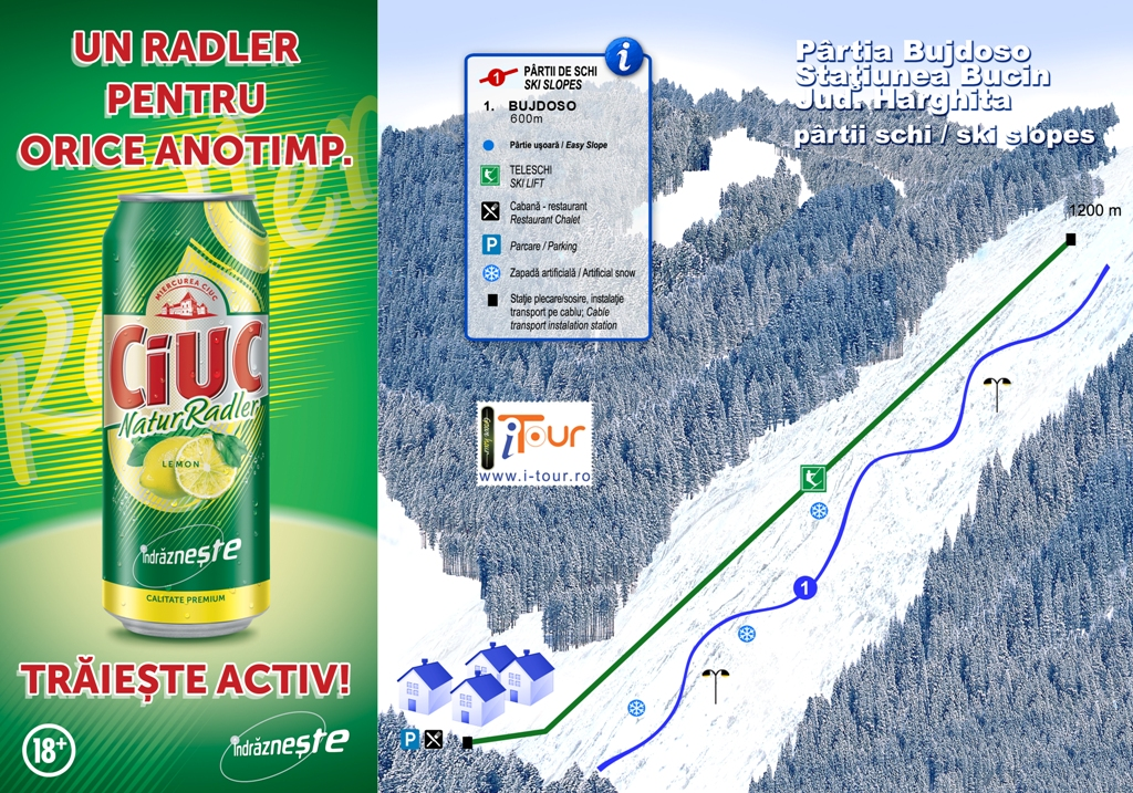 Harta partii Bujdoso Bucin, Harghita