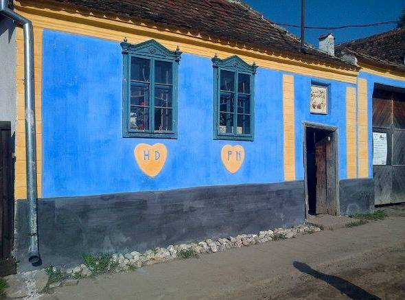 Moara veche Hosman albastru
