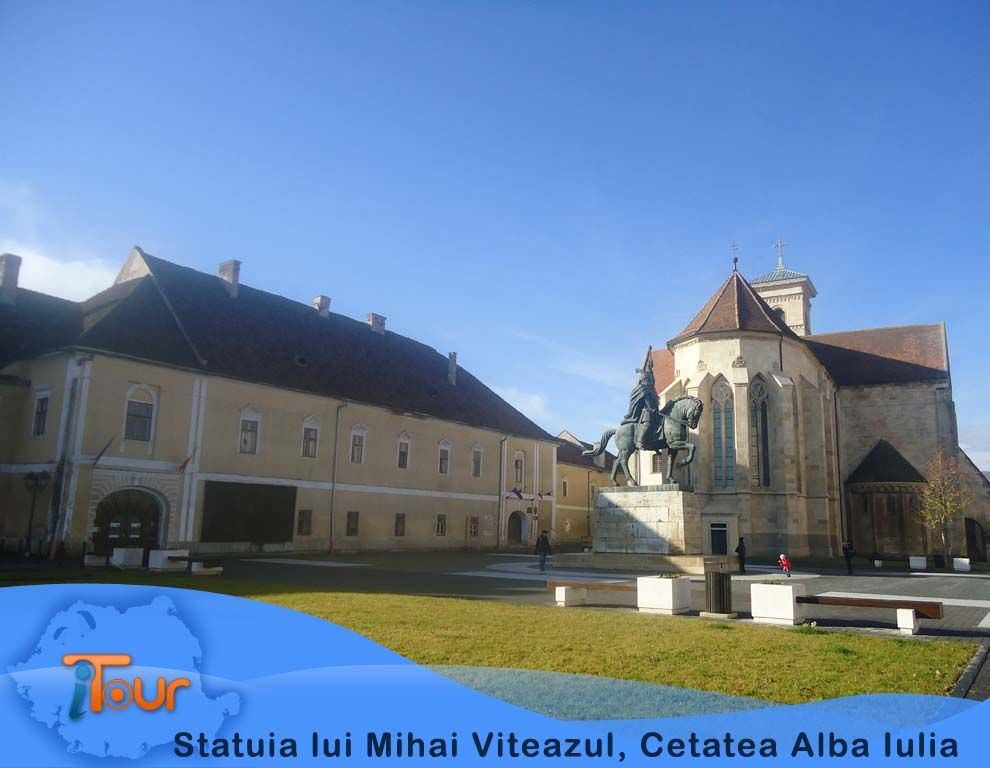 Statuia lui Mihai Viteazul Cetatea Alba Iulia