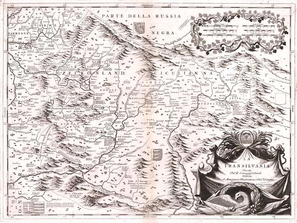"""Harta Transilvaniei de la 1690 și concert jazz A-C Leonte, miercuri la  """"Cartografii sonore"""" - i-Tour - Proiect național de promovare turistică"""