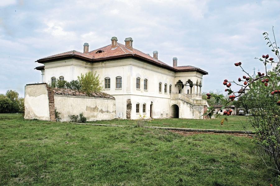 Palatul de la Potlogi înainte de restaurare